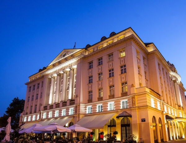 Esplanade Zagreb Hotel Outside View