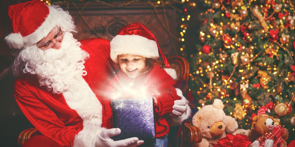 Santa Claus meet-up and holiday plays for the little ones in the magical Emerald ballroom