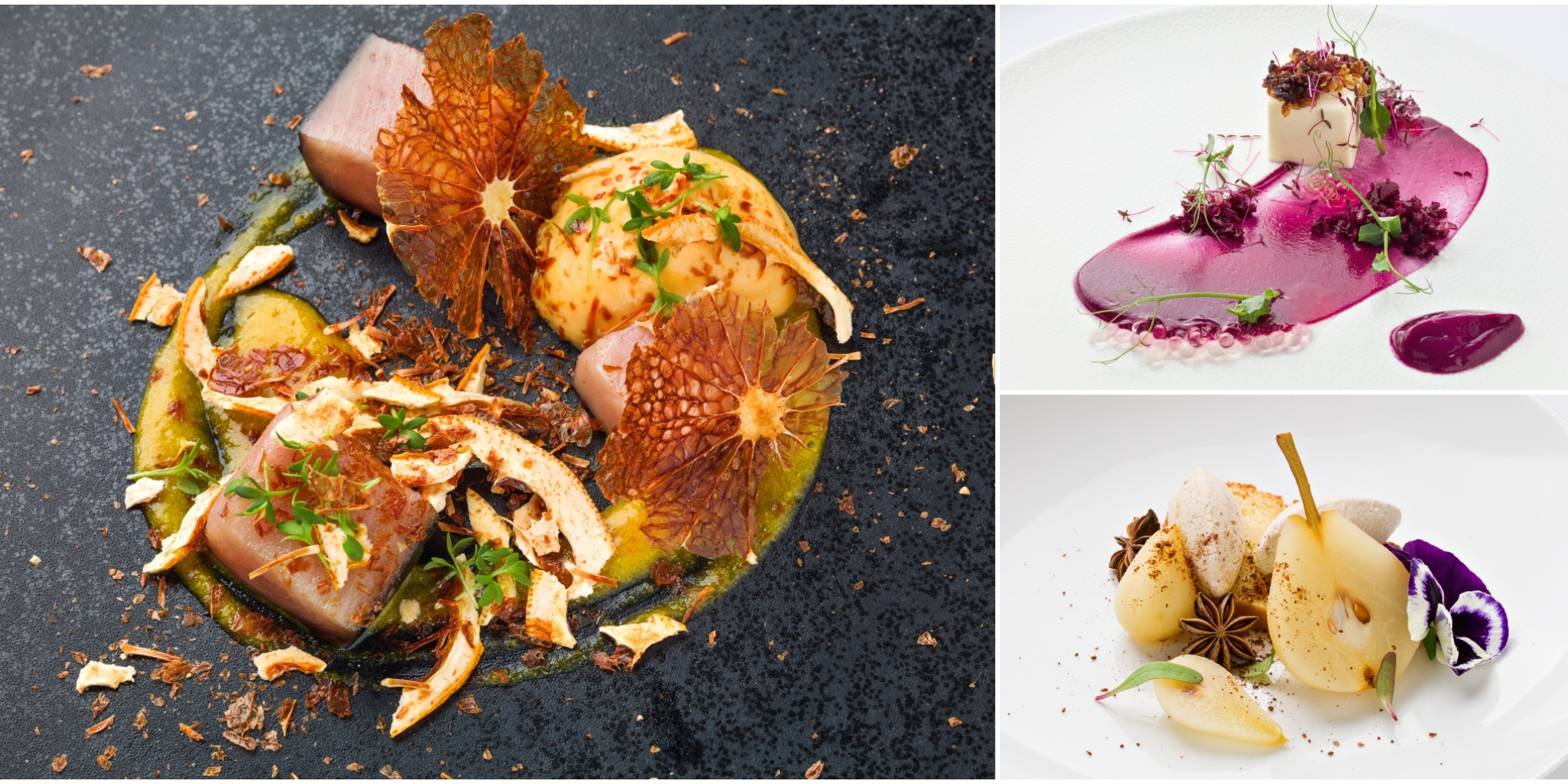 Explosion of fantastic flavours for the true gourmands