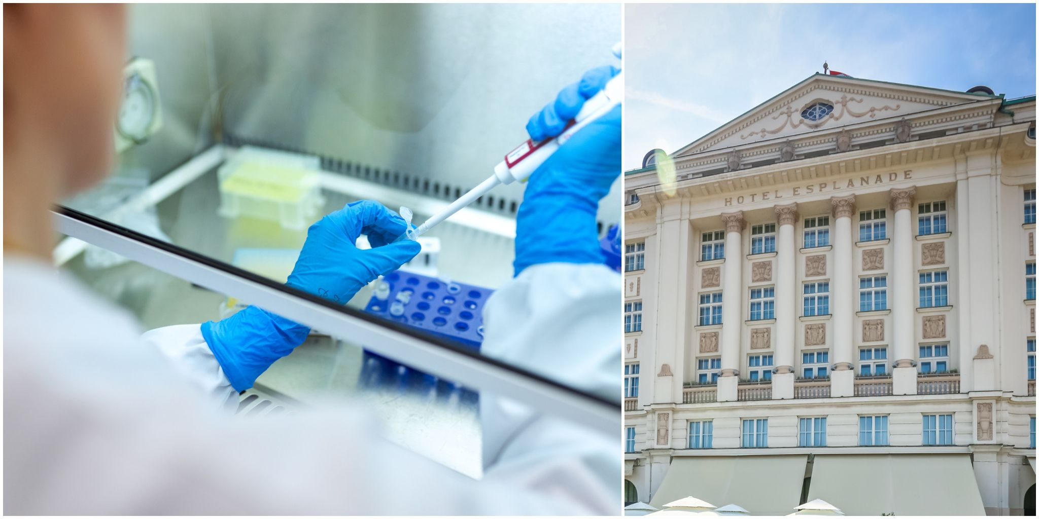 Zagreb's Esplanade Hotel now offers  COVID19 PCR, ANTIGEN AND ANTIBODY TESTING